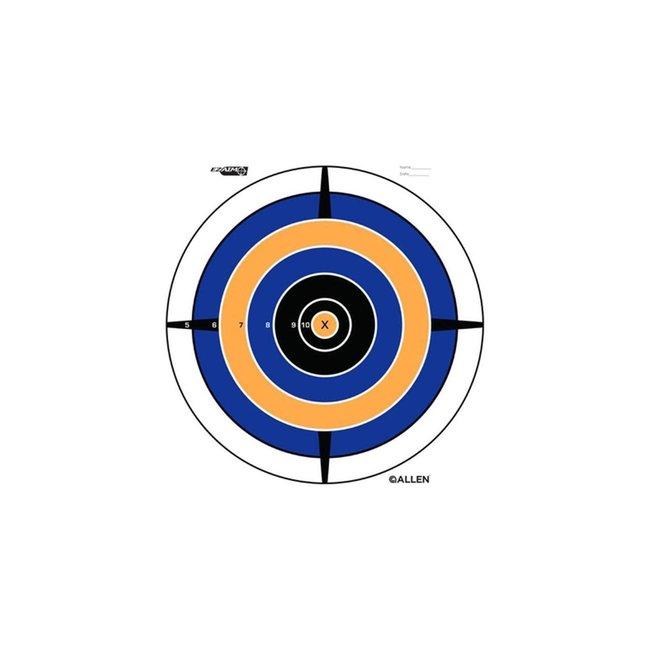 Allen bullseye target 12in 30 cm 12 packs