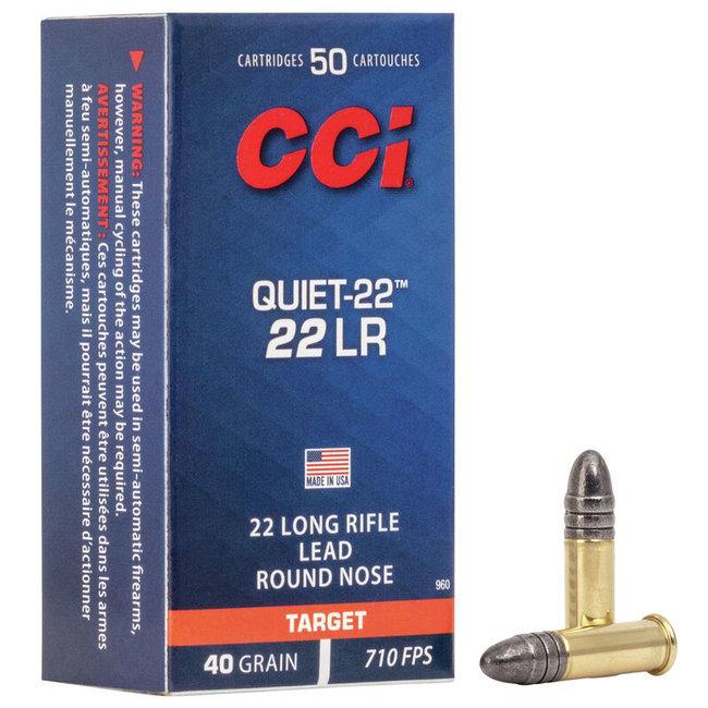 CCI Quiet 22 LR 40gr LRN 500RS/BOX