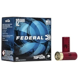 Federal Federal Top Gun Target Load, 12 Ga 2 3/4″ #7.5 Shot 11/8oz 1200FPS 250rds/Case