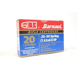 Barnaul Barnaul .30-06 SPFLD 168gr. SP 20rds