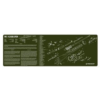 """M1 TEKMAT M1 GARAND OD GUN CLENING MAT 12""""x36"""""""