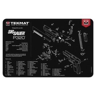 Sig Sauer TEKMAT SIGP320 LARGE  GUN CLEANING MAT