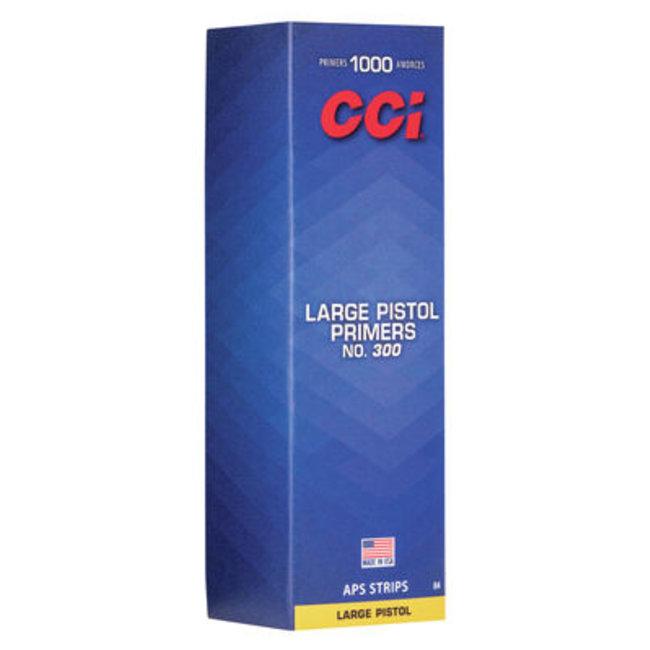 CCI #300 LARGE PISTOL PRIMERS (100pk)
