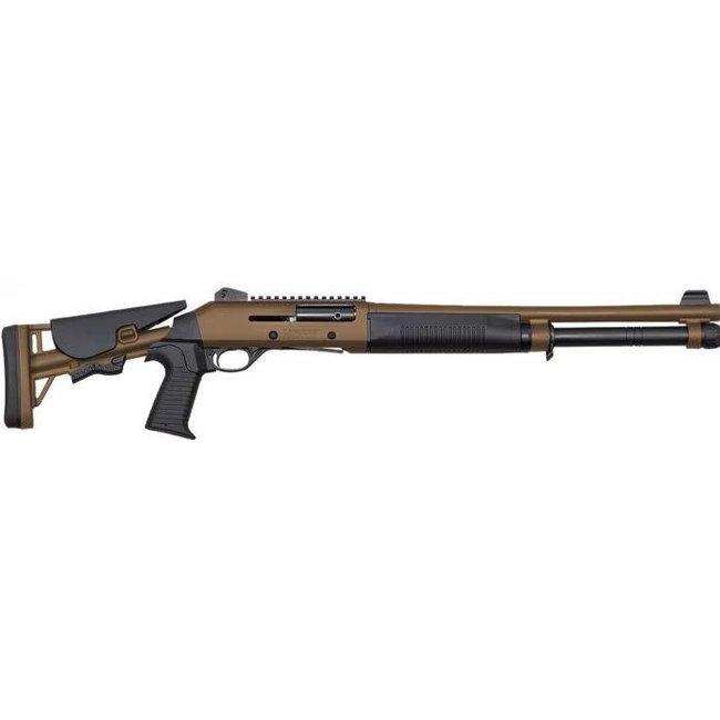 Canuck Operator M4 12Gauge 18.6″ BRL TAN