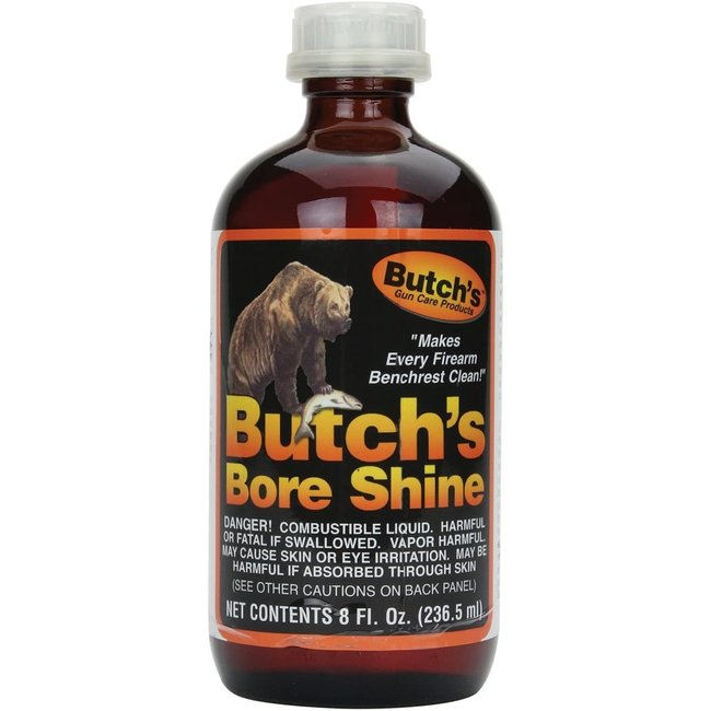 Butch's Bore shine cleaning