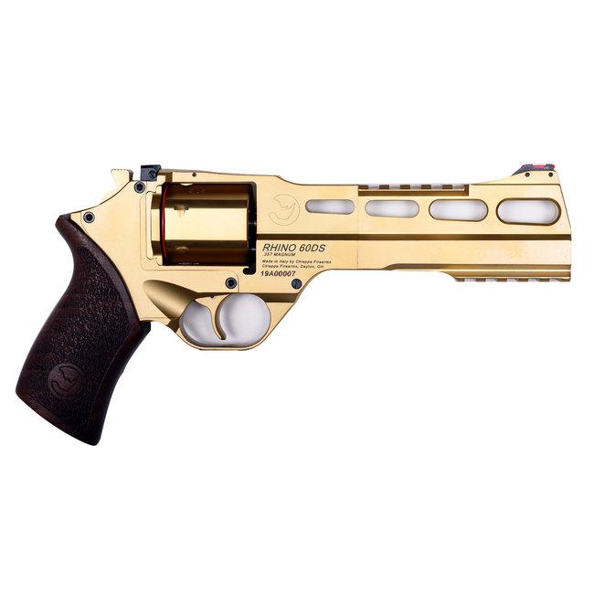 CHIAPPA RHINO 60DS 9MM 6″ GOLD/WALNUT