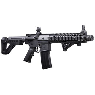 CROSMAN CROSMAN DPMS SBR CO2 BLOWBACK STEEL BB FULL AUTO RIFLE WITH EXTRA MAG