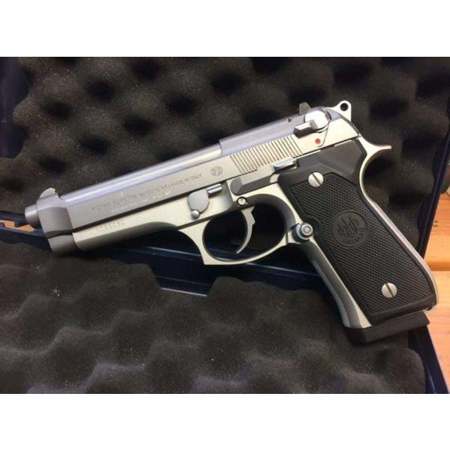 Beretta 92FS Inox Pistol 9mm 10+1 Round Made In Italy