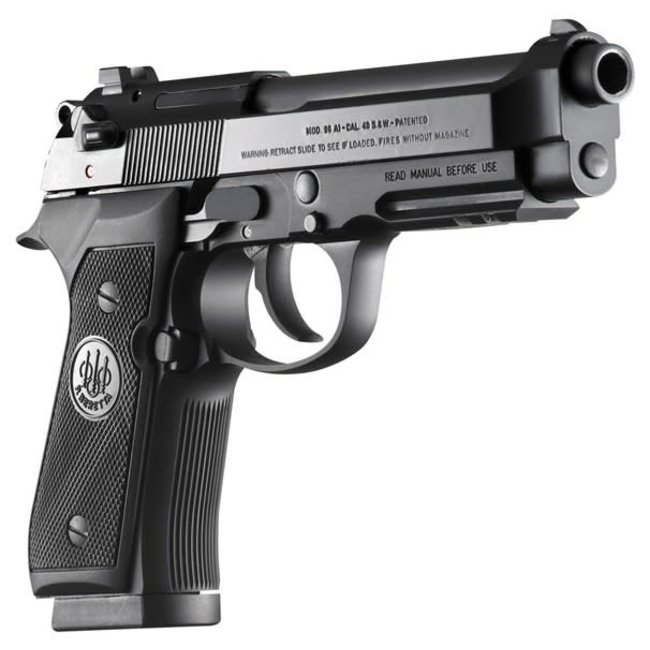Beretta 92A1 Semi-Auto Pistol 9mm Black
