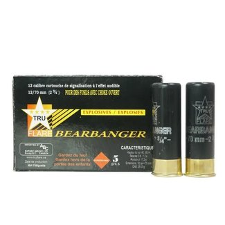Tru Flare 12GA Bear Bangers 5/Box (12GAB)