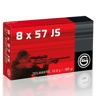 GECO GECO 8x57 MAUSER JS 185GR 50RS/BOX