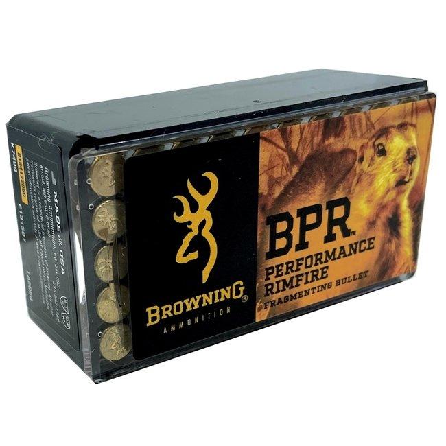 Browning22LR BPR37 Gr High-Velocity Hunting Box of 50
