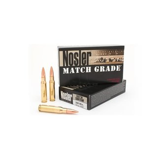 Nosler NOSLER MATCH GRADE .308WIN 168GR HPBT