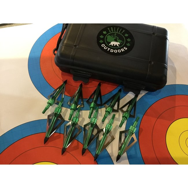 3-Blades Hunting Tips W/ Box (10/P)