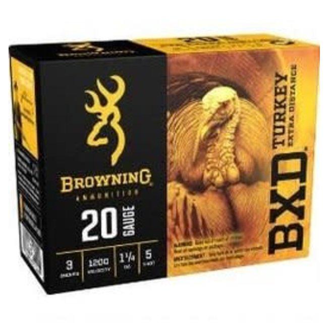 "BROWMIMG BXD 20GA 3"" 1.1/4 OZ # 5  TURKEY  10RS/BOX"