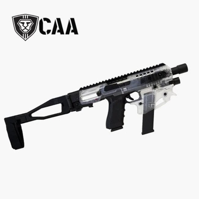 CAA MCK Micro 2.0 Conversion Kit for Glock 17, 19, 19x, 22 Pistol  CLEAR