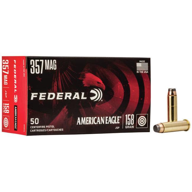 Federal American Eagle 357 Mag 158GR JSP Box Of 50