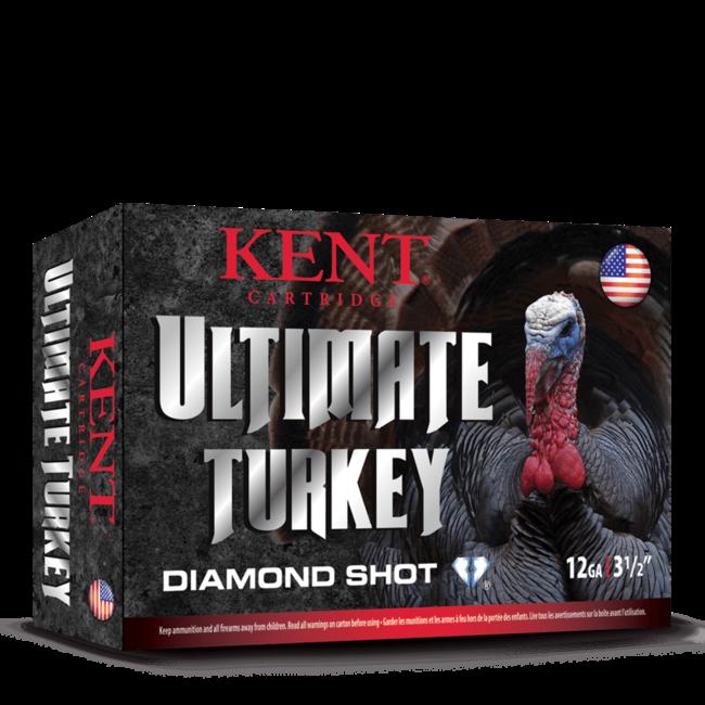 KENT Ultimate Diamond Shot Turkey, #4,12GA 3 1/2 '', 2 1/4 OZ, 1200 FPS 10RS/BOX