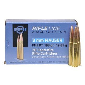 PPU PPU 8mm Mauser 198 Grain FMJ BT Box Of 20