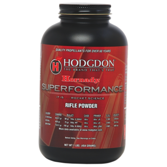 Hodgdon HODGDON HORNADY SUPERFORMANCE 1LB