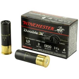 """Winchester WINCHESTER DOUBLE-X 12GA 3"""" 1.75OZ #4 TURKEY LOAD 10RD/BOX"""