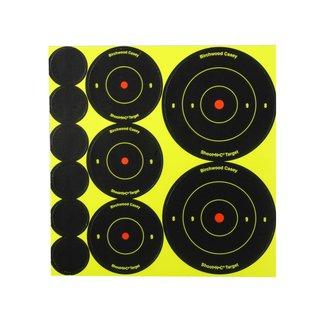 "BIRCHWOOD Birchwood Casey  Shoot-N-C 72 of 1"" , 36 of 2"" , 24 of 3"" Assortment 10pk"