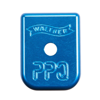 Walther WALTHER PPQ +0 MAG BASEPAD BLUE