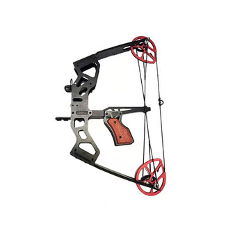 MINI COMPOUND BOW 35LB  OUTDOOR  SMALL FISHBOW CAR WITH SIGHT FOR YOUTH AND  ADULTS