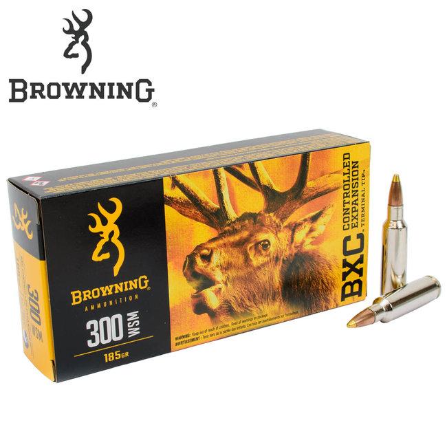 BROWNING BXC 300WSM 185GR BIG GAME 20RDS/BOX