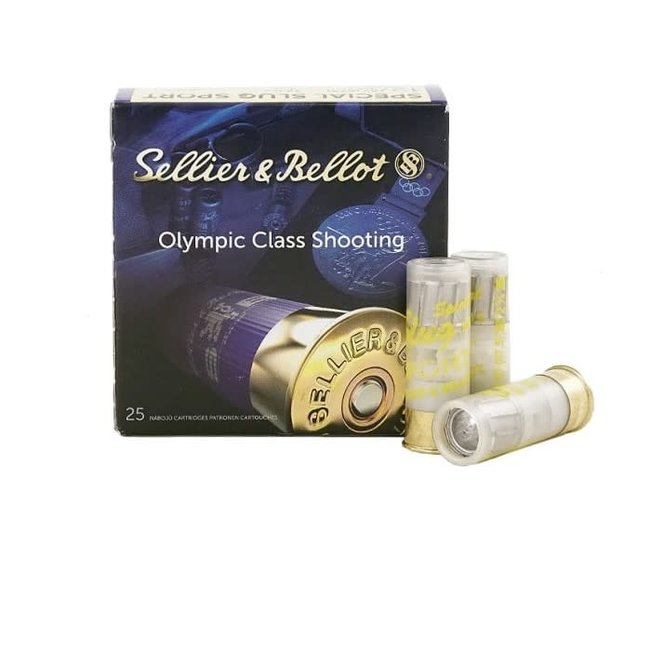 """SELLIER & BELLOT 12 GA, 2-3/4"""", SPECIAL SPORT SLUG 250RDS / CASE (STORE PICK-UP ONLY)"""