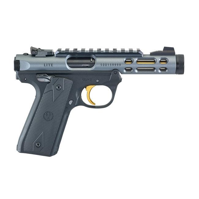 Ruger Mark IV 22/45 Lite 22 LR Semi-Auto Pistol 4.4″ Barrel Diamond Gray