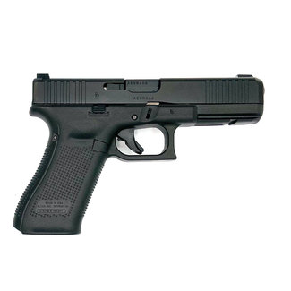 "Glock Glock 17 Gen5 Semi-Auto Pistol 9mm 4.5"" BL  GNS (Glock Night Sights) Front Serrations"