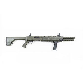 """HUNT GROUP HUNT GROUP MH12 PUMP 12GA 3"""" 14+2rds 20""""BL FIXED  STOCK ODG WITH M4 STOCK"""