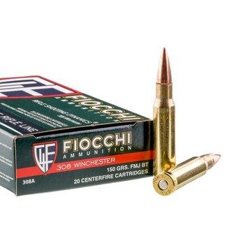 FIOCCHI FIOCCHI 308WIN 150GR FMJBT 200RD /CASE
