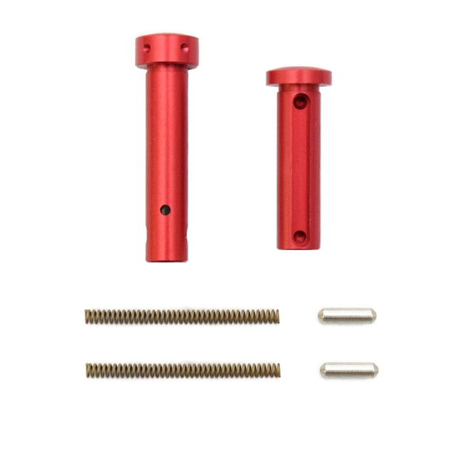 ARMASPEC SUPERLIGHT  TAKEDOWN/PIVOT PIN PACKAGE RED