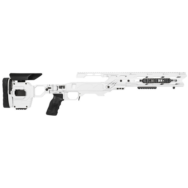 CADEX  CDX-40 SHADOW DUAL STRIKE RIFLE STOCK CHASSIS ASSEMBLY XL-ACTION  STORMTROOPER WHITE