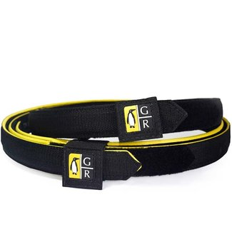 Guga Ribas Guga Ribas Competition Belt 30-32in(100cm). Yellow/Blk