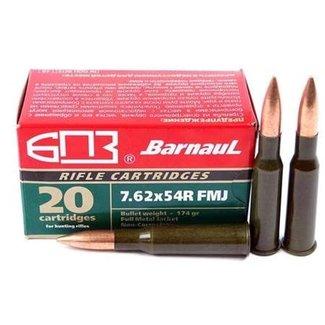 Barnaul BARNAUL 7.62x54R 174gr FMJ 500RS/CASE