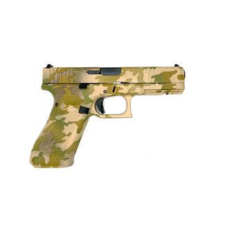 Glock GLOCK 17 G5 MOS CERAKOTE FDE 9MM W/3 MAGS