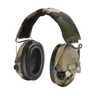 Sordin SORDIN Supreme Pro-X LED - Camo Cups, Camo Headband with Gel Earseals