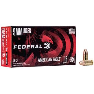 Federal FEDERAL AMERICAN EAGLE 9MM 115 GR FMJ 50/BOX