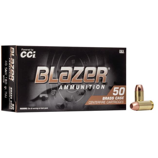 CCI BLAZER 40S&W 180GR BRASS 50RDS/BOX