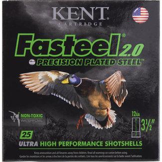 """Kent Cartridge KENT FASTEEL 2.0 12GA 3"""" 1 1/8OZ 1560FPS #1  250RS/CASE"""