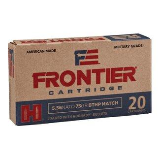 Hornady HORNADY Frontier Match Ammo 5.56 Nato 75 Gr BTHP Box Of 20