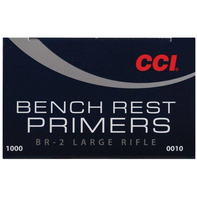 CCI Large Rifle Primers BR-2 1000 primers 0010