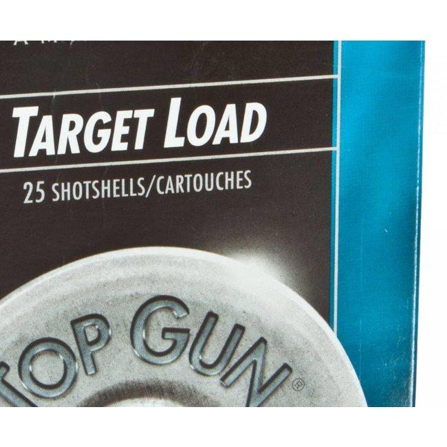Federal  Top Gun Target Shotshell 12 GA, 2-3/4 in, No. 7-1/2, 1 oz, 2-3/4 Dram, 250/case
