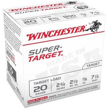"Winchester TRGT127 Super-Target Trap Load 12 GA, 2-3/4"", #7.5, 1-1/8 oz, 2-3/4 dr, 10 boxes"