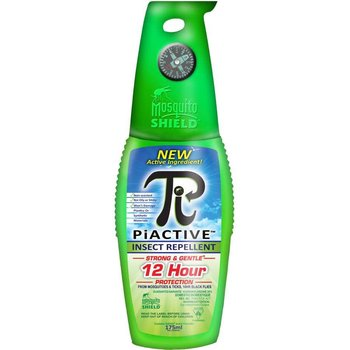 Mosquito Shield MS0020 PiACTIVE Original 20% Icaridin DEET Free