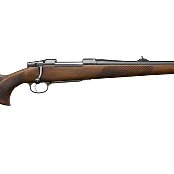 CZ CZ  557 FS Bolt Action Rifle, 30-06 SPR, 20.5'' Bbl Walnut, 5 Rnd, Box Mag, Adj Sights, Adj Trigger