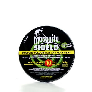 Mosquito Shield MS0402 Mosquito Coil TIN (10 X 16g) 160g 0.35%